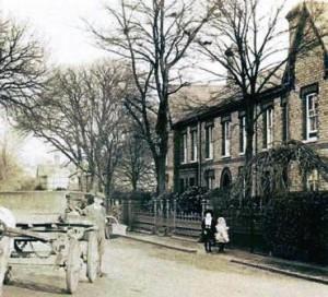 Chestnut Street, Ruskington. c. 1900