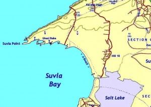 Suvla Bay, c. 1916