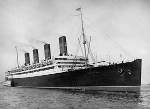 Hospital Ship - RMS Aquitania