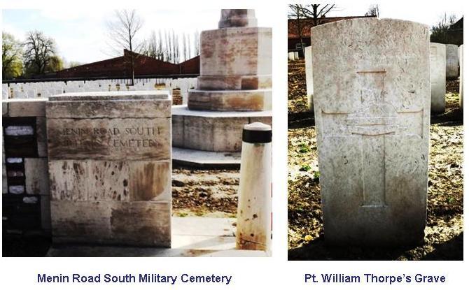 Thorpe W Grave