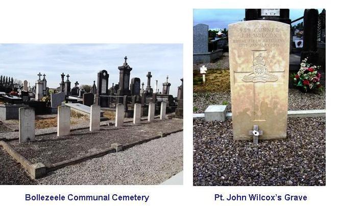 Wilcox J H Grave