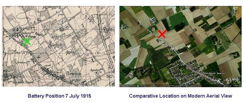 Wilcox J Map July 1915