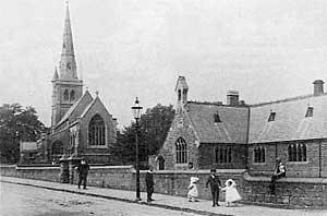 St John's Church & School, Mansfield, Notts.