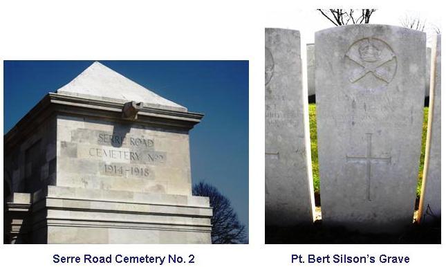 Silson B Grave