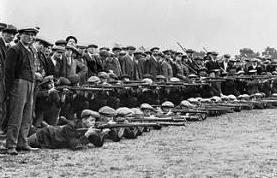 Grimsby Chums Training Sept. 1914 [IWM Q.53286]