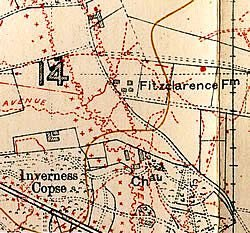 Inverness Copse Map