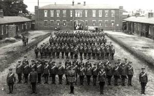 Lincs Yeomanry on Parade, 1914
