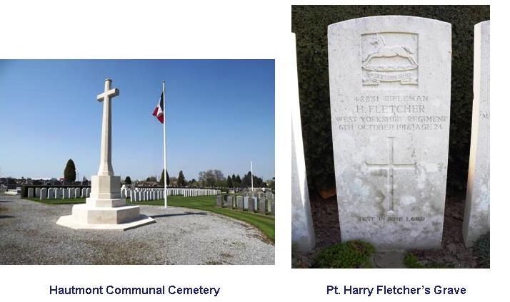 Fletcher H grave