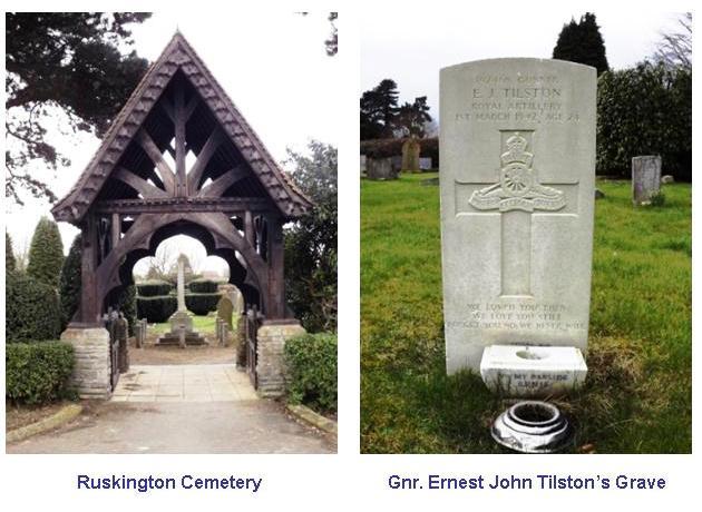 Tilston E J Grave