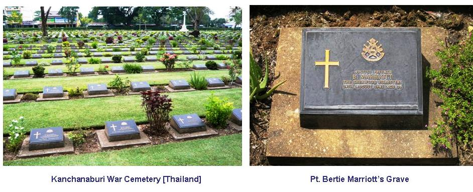 Marriott B Grave