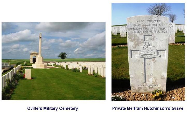 Hutchinson grave