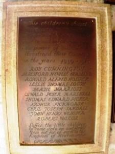 The 2nd World War Memorial
